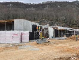 Radovi na izgradnji Centra izvrsnosti Cerovačke špilje